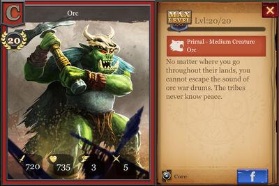 Orc max