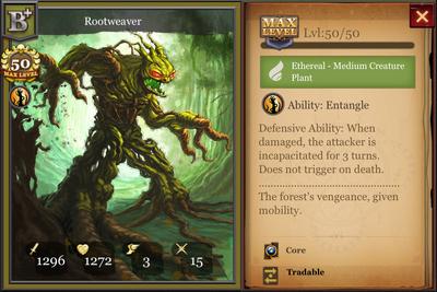 Rootweaver B+ max