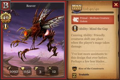 Reaver max