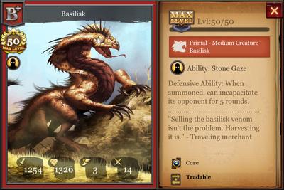Basilisk B+ max