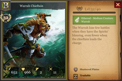 Warrah Chieftain