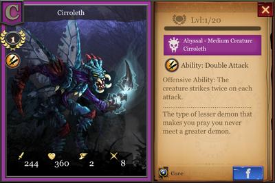 Cirroleth