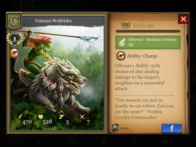 Veteran Wolfrider