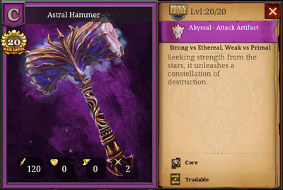 Astral Hammer C 20 Full