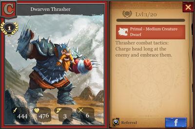 Dwarven Thrasher