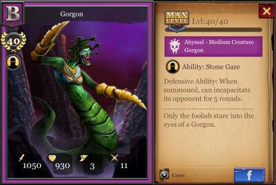 Gorgon max
