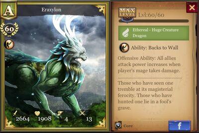Eraxylon max
