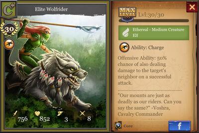 Elite Wolfrider max