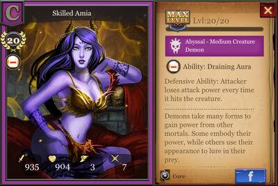 Skilled Amia max