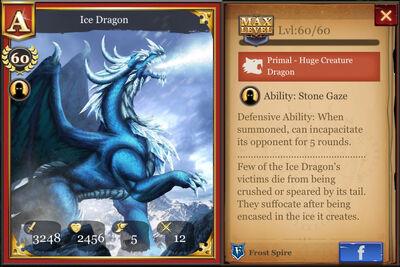 Ice Dragon max