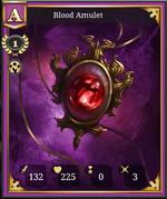 Blood Amulet A 1
