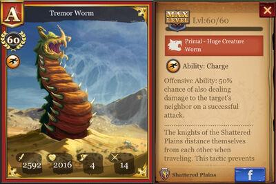 Tremor Worm max