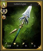 Lorien's Lance-1