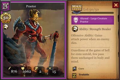 Praetor B+ max