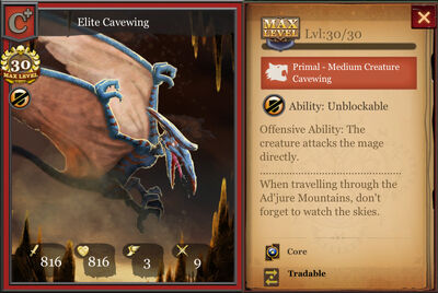 Elite Cavewing max