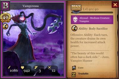 Vampyressa max