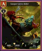 Sangur Goren Rider A 1 card