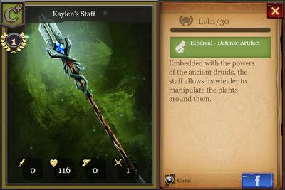 Kaylen's Staff c+