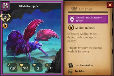 Gladiator Spider