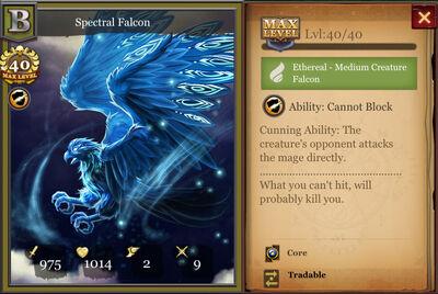Spectral Falcon max