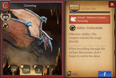 Cavewing max