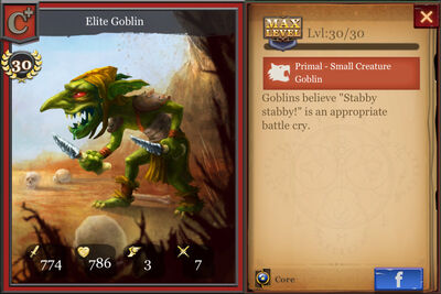 Elite Goblin max