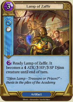Lamp of Zaffir