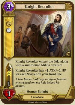 Knight Recruiter