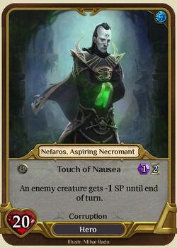 Nefaros, Aspiring Necromant