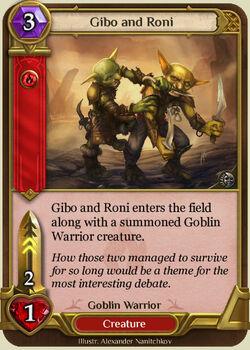 Gibo and Roni