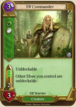 Elf Commander