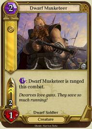 Dwarf Musketeer