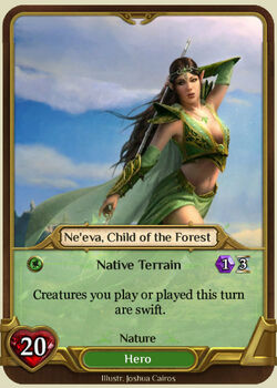 Ne'eva, Child of the Forest