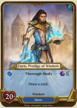 Daris, Prodigy of Wisdom