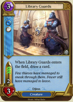 Library Guards