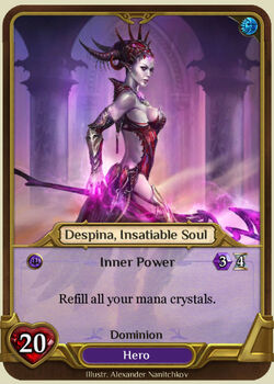 Despina, Insatiable Soul