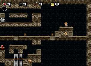 Spelunky Classic Temple Level 13