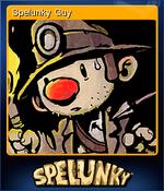 Spelunky Guy Card