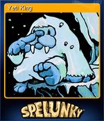Yeti King Card