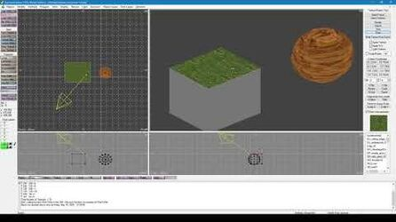 EuroLand Redux - 3D Editor objects, textures and lights