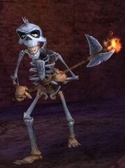 Skeletalaxeman