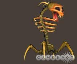 Skeletspider