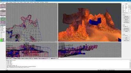 EuroLand Redux - 3D Editor basic controls and polygon selection