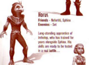 Horus nefertiti