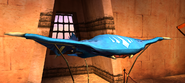 Manta ray museum angled