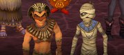 Sphinx and the Mummy