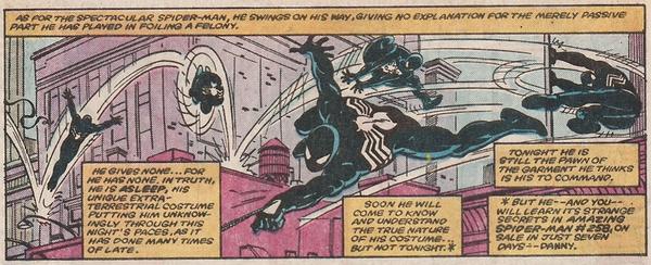 Spider-Man Symbiote - Spectacular Annual 4