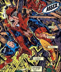 Battle-Damaged Spider-Man - Spider-Man 5