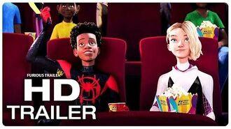 SPIDER-MAN INTO THE SPIDER-VERSE Miles And Gwen Date Night Trailer (NEW 2018) Superhero Movie HD