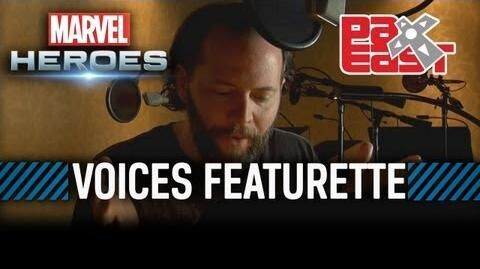 Marvel Heroes - Meet the Voices of Marvel Heroes